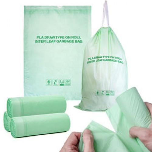 plastic drawstring bags