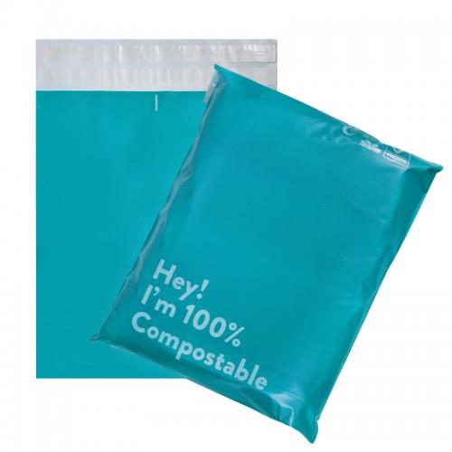 mailing bags custom logo biodegradable