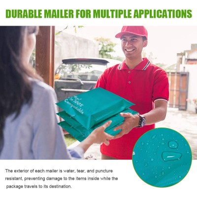 biodegradable poly mailer mailing bags with logo self adhesive clothing bags free sample