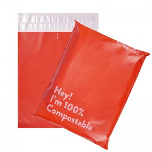 poly mailer pink mailing bag biodegradable compostable postage bag free shipping