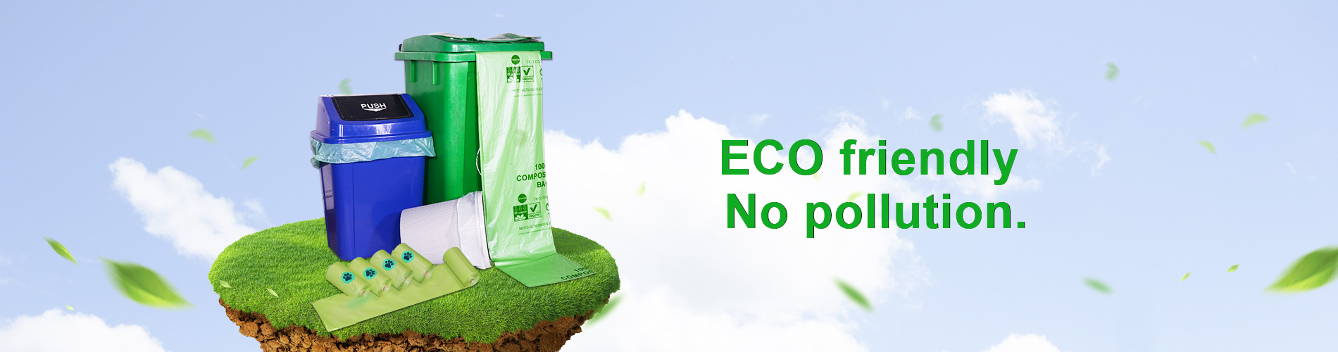 Biodegradable garbage bags wholesale