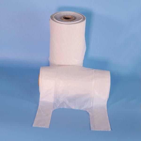 Natural plant fiber fully degradable packaging bag