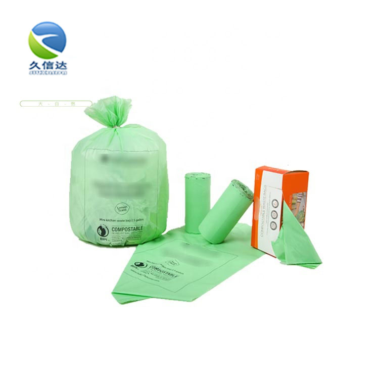 Compostable Clothes Bags With Logo|Custom Cornstarch ECO Friendly