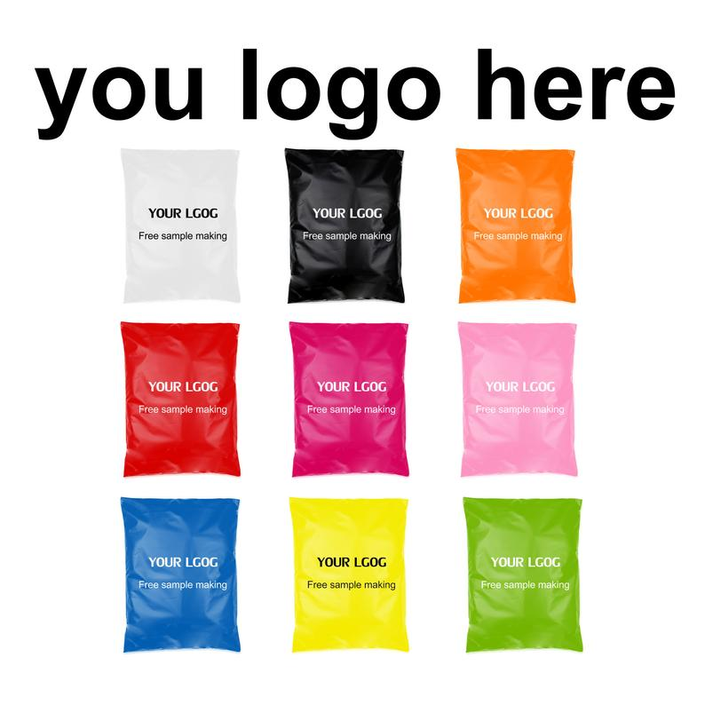 Biodegradable With logo mail carrier bag