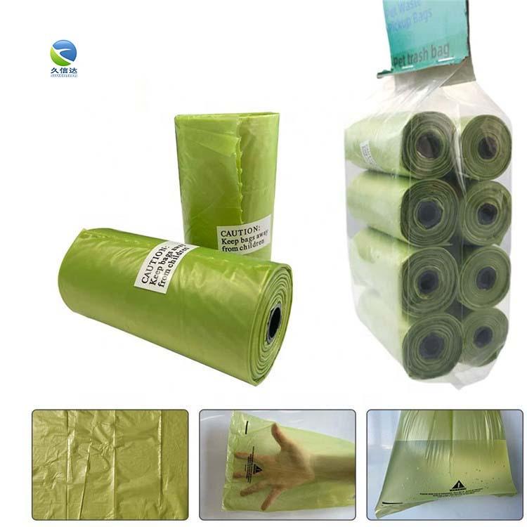 PLA full biodegradable shopping bag|corn starch plastic bag