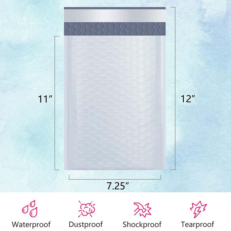 Bubble Mailing Bag Padded Envelopes Poly Bubble Mailer 7.25x12 inch