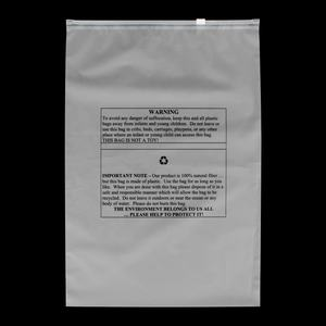 What is the material of clothing packaging bag?